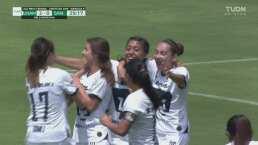 Daniela Sánchez firma el doblete ante Santos Laguna