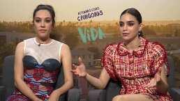 Melissa Barrera y Mishel Prada hablan de la unión entre la comunidad latina y LGBT en 'Vida'