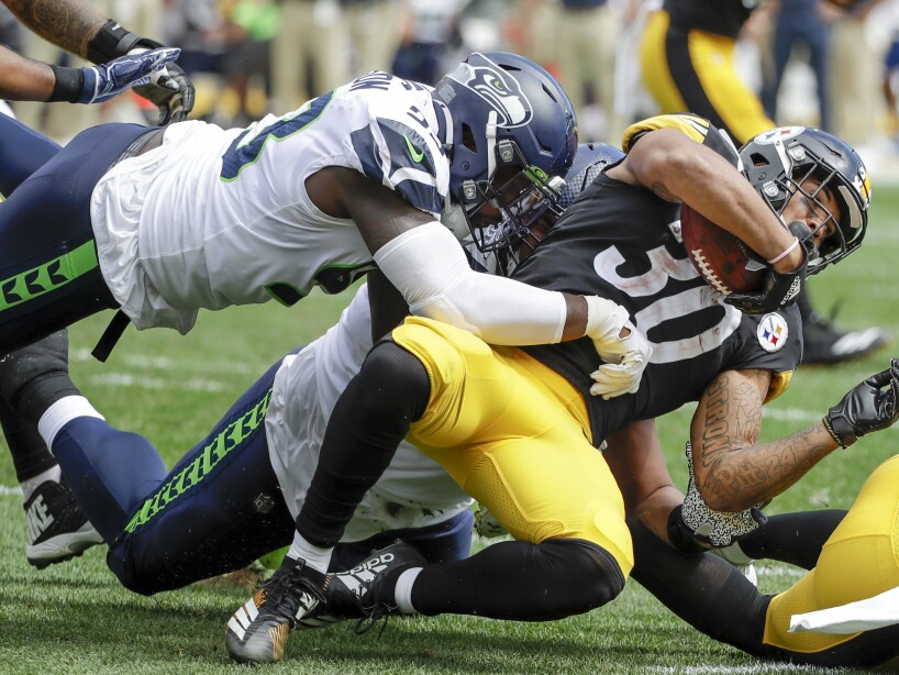 Seahawks Steelers Football