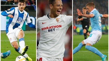Los marcadores, y goles de todos los equipos de la jornada; Chicharito Hernández marca de nuevo.