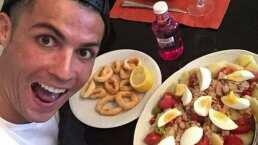 ¿Nada más? Cristiano Ronaldo come seis veces al día