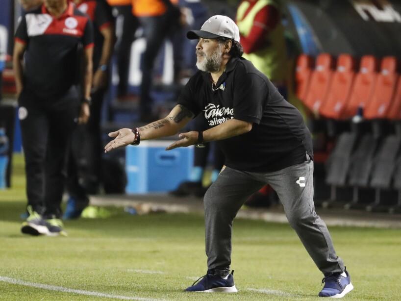 Mexico Soccer Maradona