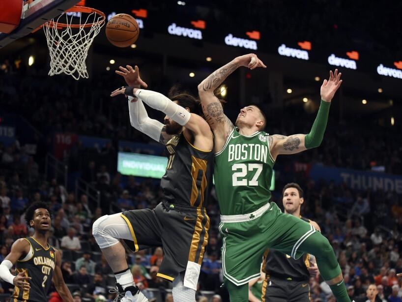 APTOPIX Celtics Thunder Basketball