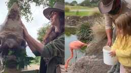 Kailani y Mauricio Ochmann viven una encantadora aventura en el Safari