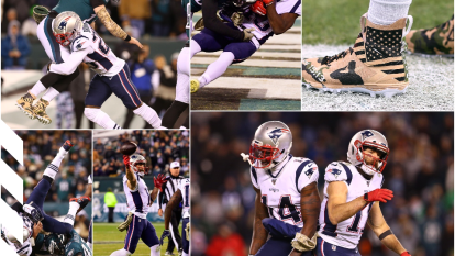 Philadelphia no aprovechó la condición de local y perdiò ante unos inspirados Patriots.