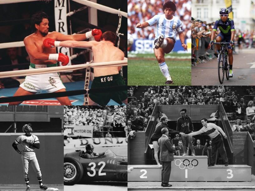 Los deportistas latinoamericanos mundialmente reconocidos