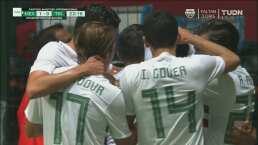 ¡Hace una faena! Macías marca su primer gol en Selección Mayor