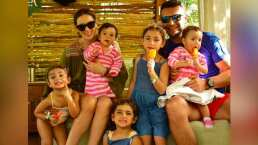 Al ritmo de 'Baby Shark', hijas de Jacky Bracamontes arman tremenda fiesta en el bote de su papá
