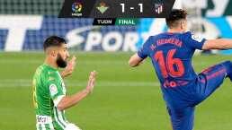 Héctor Herrera y Diego Lainez firman empate entre Betis y 'Atleti'