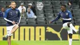 Aké Loba sale del cuadro titular de Rayados ante Xolos