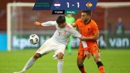 Divertido empate entre Países Bajos y España