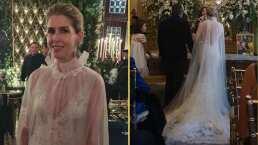 El vestido con capa con el que Eugenia Debayle deslumbró en su boda