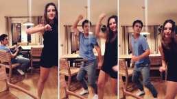 ¡Una vez más!: Mauricio Ochmann y su hija Lorenza demuestran lo buenos que son para bailar