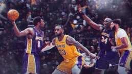 ¿Se imaginan un duelo así? Kobe y Shaq vs. LeBron y Anthony