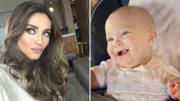 """Emiliano, hijo de Anahí, ya dice """"mamá"""" y la actriz grita de emoción"""
