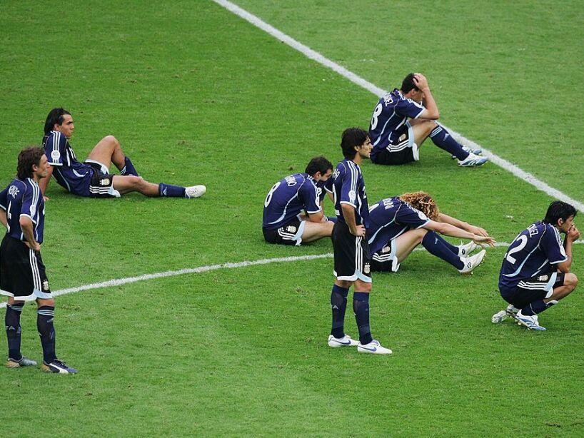 Quarter-final Germany v Argentina - World Cup 2006