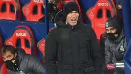 Zinedine Zidane se mostró molesto como nunca