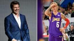 Justin Bieber se pone al 'tú por tú' con Tom Cruise