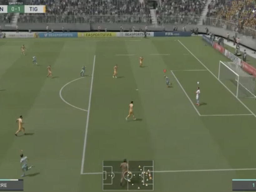 Santos vs Tigres, eLiga MX, 11.png
