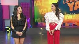"""Cynthia Urías coquetea con Gabriel Soto y Dalilah Polanco la llama: """"Golosa"""", al estilo de 'La Familia P. Luche'"""