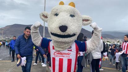 Aficionados de Pachuca y Chivas se declaran listos para vivir una intensa noche de futbol en el Estadio Hidalgo.