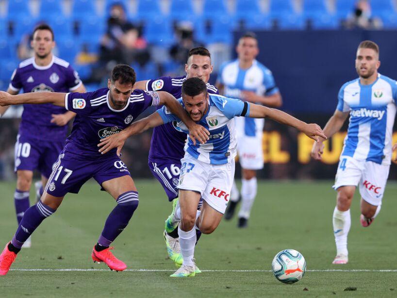CD Leganes v Real Valladolid CF - La Liga
