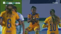 ¡Incrementan la goleada! Belén Cruz marca el 4-1 con un fogonazo