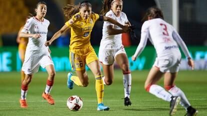 Tigres y Toluca se repartieron un punto tras empatar 1-1 con goles de Blanca María Solís y Mariel Román, en la Jornada 3 de la Liga MX Femenil.