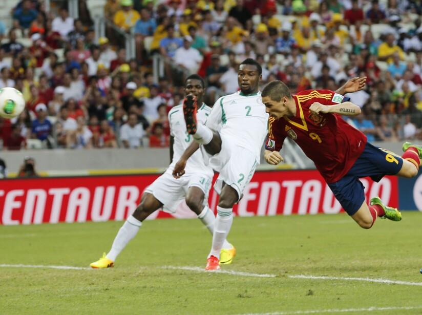Brazil Soccer Confed Cup Nigeria Spain
