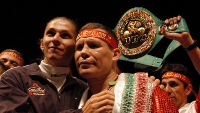 Sólo la historia podría ubicar a Saúl 'Canelo' Álvarez o a Andy Ruiz en esta lista de honor.