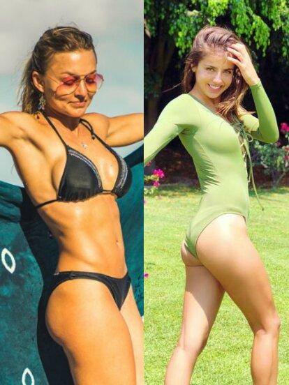 Estas famosas dejaron ver sus curvas y en redes sociales posaron en sensuales trajes de baño, enloqueciendo a sus seguidores