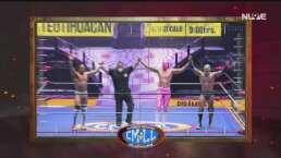 ¡Gran victoria! Volador Jr., Soberano Jr. y Titán superan a la NGD