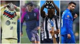 Bajas y altas de América, Chivas, Rayados y Cruz Azul rumbo al CL2020