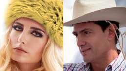Video: El beso de Enrique Peña Nieto con Tania Ruiz mientras bailan al ritmo de Los Ángeles Azules