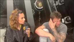 """Nicola rompe en llanto tras aclararse que en ningún momento empujó a Macky: """"No es justo para mí"""""""