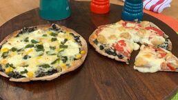 RECETA: Pizza de huitlacoche