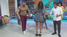 """Galilea Montijo revela cuánto pesa y Diego Di Marco afirma con picante comentario: """"Desnuda ha de pesar 64"""""""