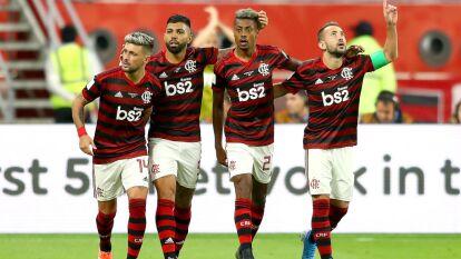 Con goles de Giorgian De Arrascaeta, Bruno Henrique y autogol de Ali Al-Boleahi, Flamengo remonta y consigue el pase a la Final del Mundial de Clubes.