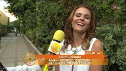 Laura Carmine se integra a De que te quiero, te quiero