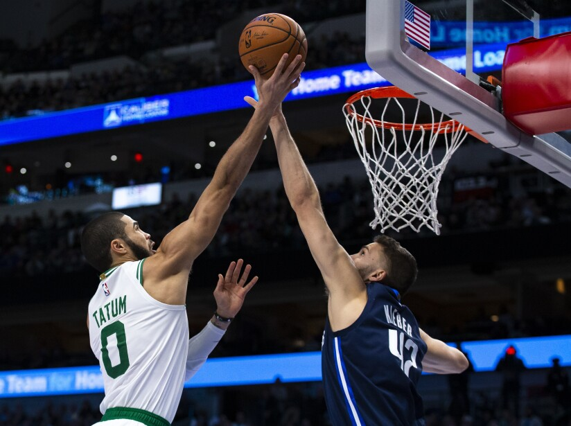 Dallas Mavericks 102-109 Boston Celtics