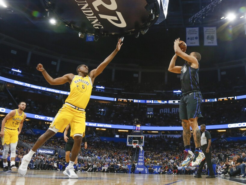 Warriors Magic Basketball