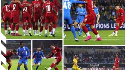 Genk 1-4 Liverpool. Con doblete de Chamberlain, tantos de Mané y Salah, el Liverpool gana 1-4 al Genk; por los locales descontó Odey.