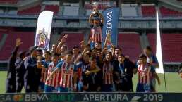 Los goles con los que Chivas se coronó en la Sub-17
