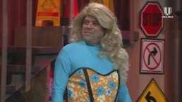 'El Burro' Van Rankin pierde apuesta y aparece vestido de Drag Queen: 'No eres fea, eres diferente'