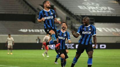 El Inter le pasa por encima al Shakhtar Donetsk con dobletes de Lautaro y Lukaku y un gol de D'Ambrosio. Jugará la final de la Europa League.