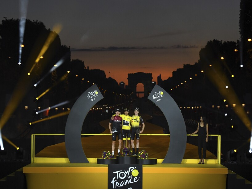 Virus Outbreak France Tour de France