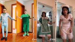 Después de 8 años alejados de La Familia P. Luche, Ludovikito y Excelsa reviven a sus personajes en TikTok