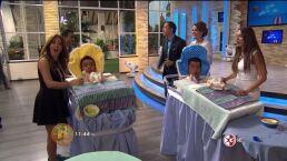 Concurso de bebes en el Baby Shower de Ninel Conde