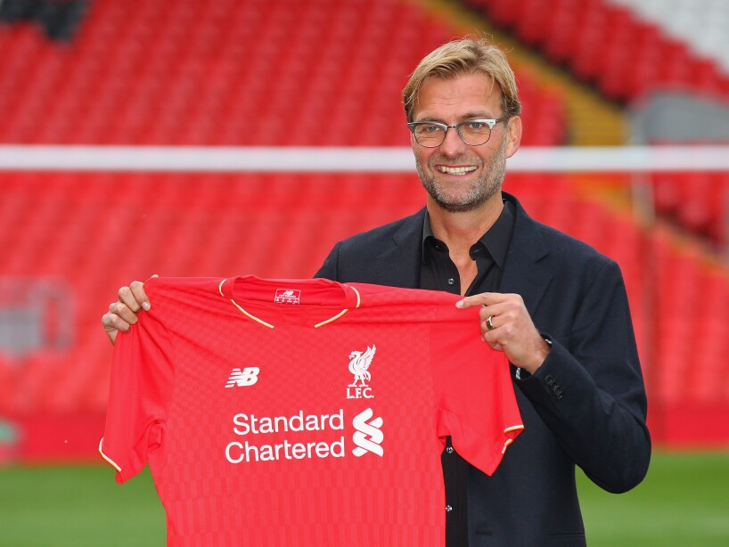 Liverpool Unveil New Manager Jurgen Klopp