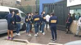 Jugadores de Pumas se presentan a pruebas de COVID-19